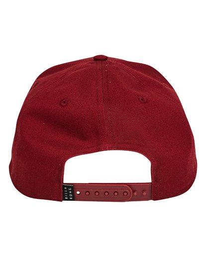 3 All Day Snapback Hat Red MAHWTBAS Billabong