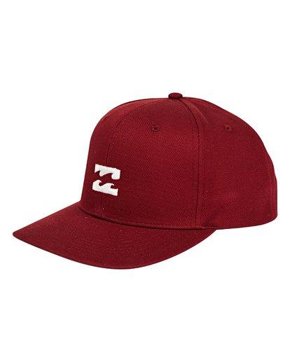0 All Day Snapback Hat Red MAHWTBAS Billabong