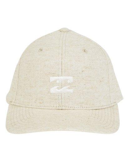 1 All Day Snapback Hat Beige MAHWTBAS Billabong