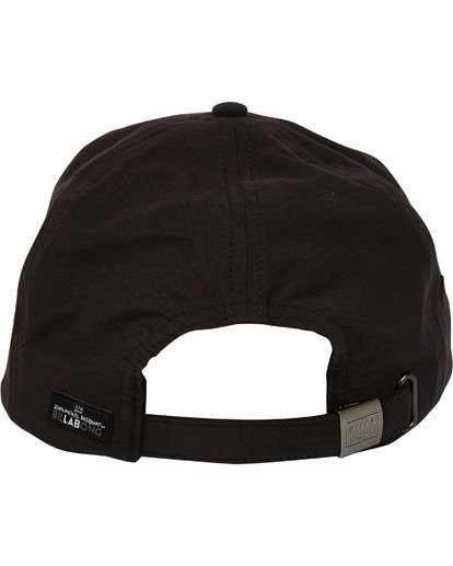 3 Basquiat Art Lad Cap Black MAHWTBBA Billabong