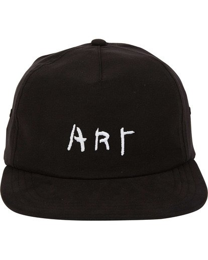 1 Basquiat Art Lad Cap Black MAHWTBBA Billabong