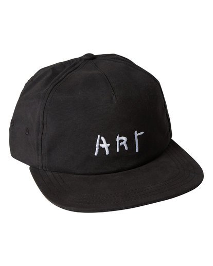 2 Basquiat Art Lad Cap Black MAHWTBBA Billabong