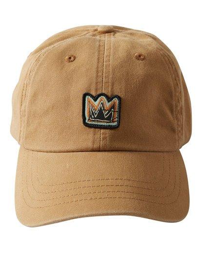 1 Basquiat Crown Lad Cap Beige MAHWTBBC Billabong