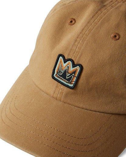 4 Basquiat Crown Lad Cap Beige MAHWTBBC Billabong
