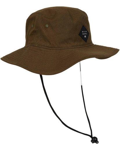 2 Big John Hat Green MAHWTBBI Billabong