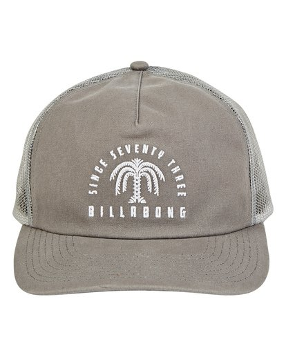 1 Breakdown Trucker Hat Grey MAHWTBBR Billabong