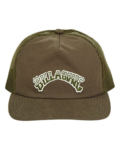 1 Breakdown Trucker Hat Green MAHWTBBR Billabong
