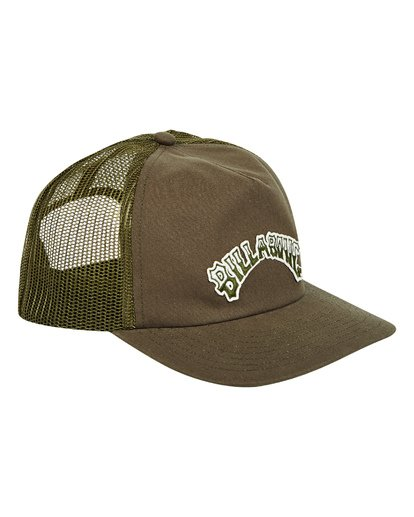 2 Breakdown Trucker Hat Green MAHWTBBR Billabong