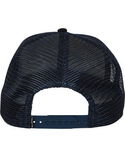 3 Beachcomber Trucker Hat Blue MAHWTBBT Billabong