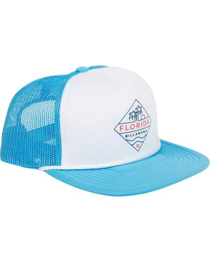2 DESTINATION TRUCKER Blue MAHWTBDE Billabong