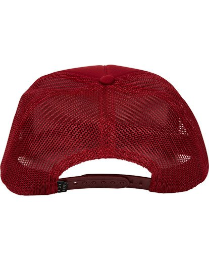 3 Eighty Six Trucker Hat Red MAHWTBEI Billabong