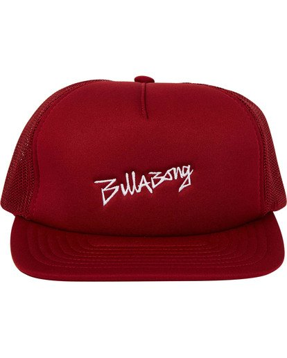 1 Eighty Six Trucker Hat Red MAHWTBEI Billabong