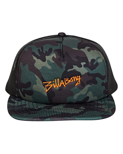 1 Eighty Six Trucker Hat Camo MAHWTBEI Billabong