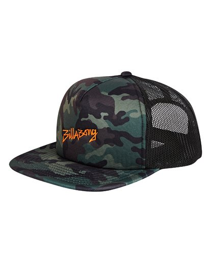 0 Eighty Six Trucker Hat Camo MAHWTBEI Billabong