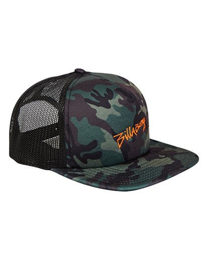 2 Eighty Six Trucker Hat Camo MAHWTBEI Billabong