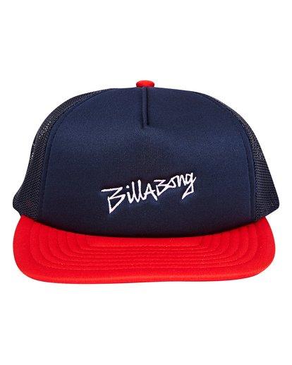 1 Eighty Six Trucker Hat Blue MAHWTBEI Billabong