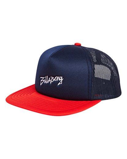 0 Eighty Six Trucker Hat Blue MAHWTBEI Billabong