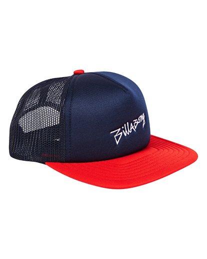 2 Eighty Six Trucker Hat Blue MAHWTBEI Billabong