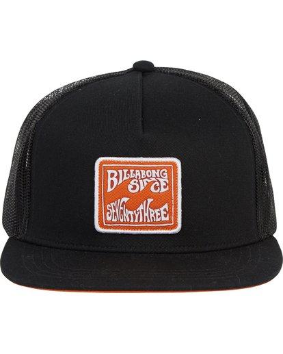 1 Flatwall Trucker Hat Black MAHWTBFW Billabong