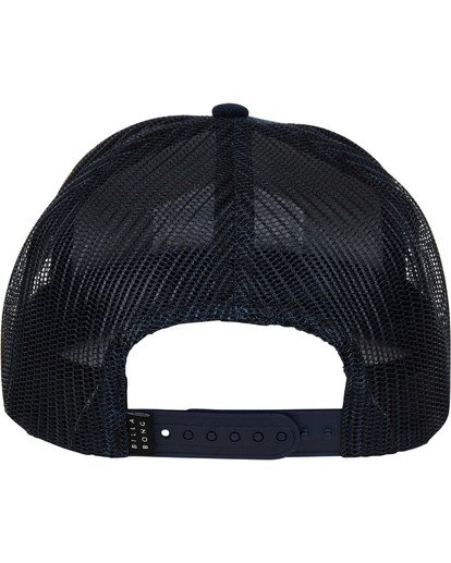 3 Flatwall Trucker Hat Blue MAHWTBFW Billabong