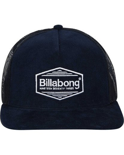 1 Flatwall Trucker Hat Blue MAHWTBFW Billabong