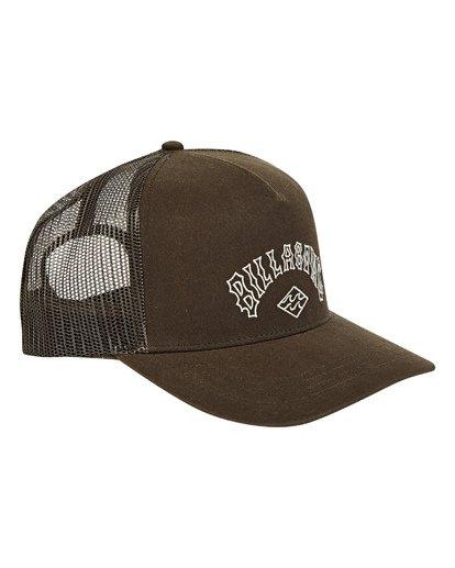 2 Flatwall Trucker Hat Brown MAHWTBFW Billabong