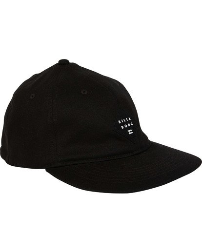 2 Mission Stretch Hat Black MAHWTBMI Billabong