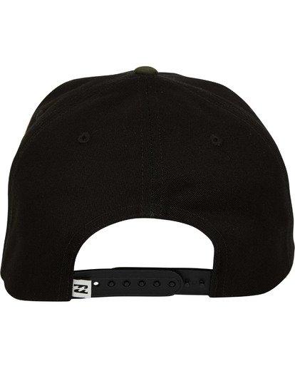 3 Plateau Snapback Hat  MAHWTBPL Billabong
