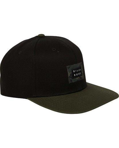 2 Plateau Snapback Hat  MAHWTBPL Billabong