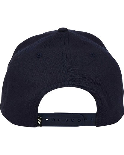 3 Plateau Snapback Hat Blue MAHWTBPL Billabong
