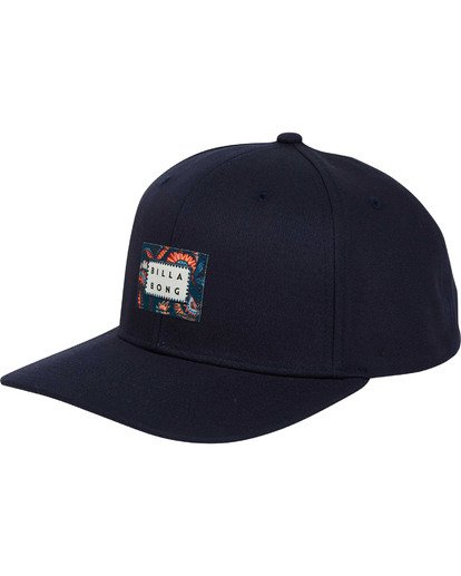 0 Plateau Snapback Hat Blue MAHWTBPL Billabong