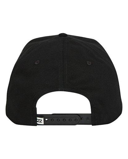 3 Plateau Snapback Hat Grey MAHWTBPL Billabong