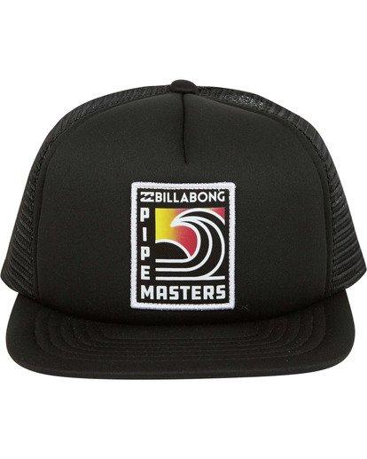 1 Pipe Trucker Hat  MAHWTBPT Billabong