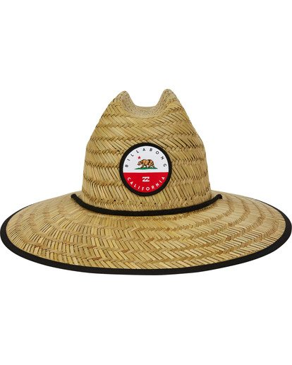 1 Native Rotor Tides Straw Hat  MAHWTBRT Billabong