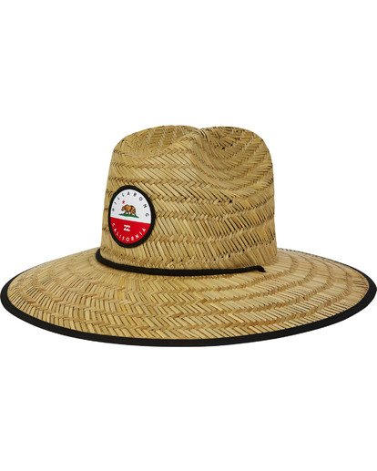 0 Native Rotor Tides Straw Hat  MAHWTBRT Billabong