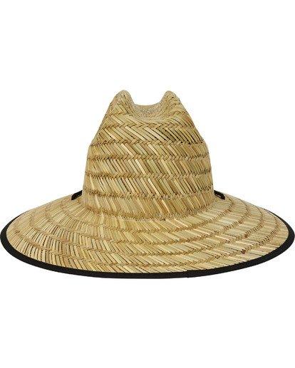 3 Native Rotor Tides Straw Hat Orange MAHWTBRT Billabong