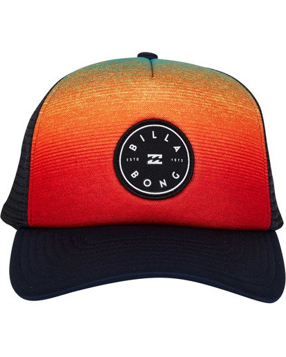 1 Scope Trucker Hat Blue MAHWTBSC Billabong