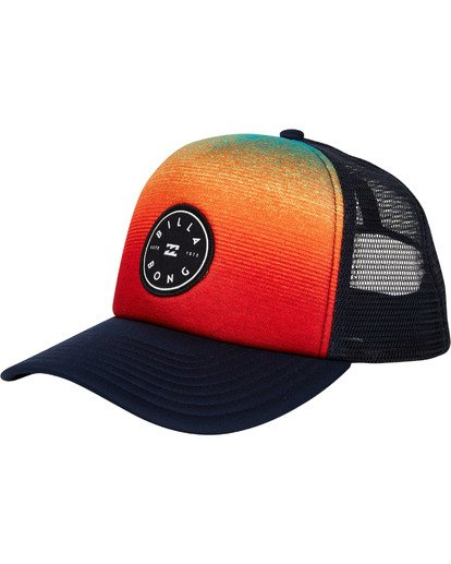 0 Scope Trucker Hat Blue MAHWTBSC Billabong