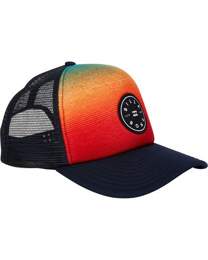 2 Scope Trucker Hat Blue MAHWTBSC Billabong