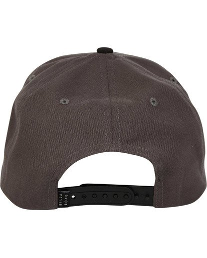 3 Stacked Snapback Grey MAHWTBSS Billabong