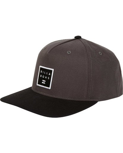 0 Stacked Snapback Grey MAHWTBSS Billabong