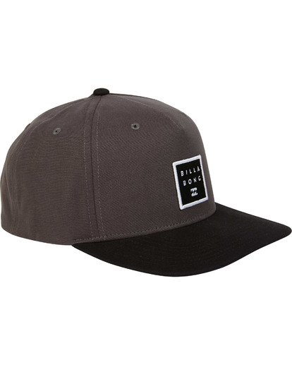 2 Stacked Snapback Grey MAHWTBSS Billabong