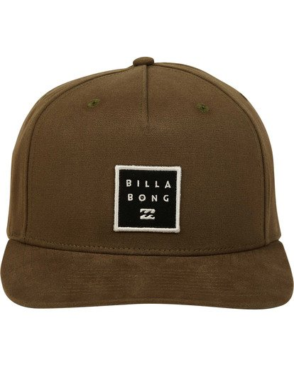 1 Stacked Snapback Green MAHWTBSS Billabong
