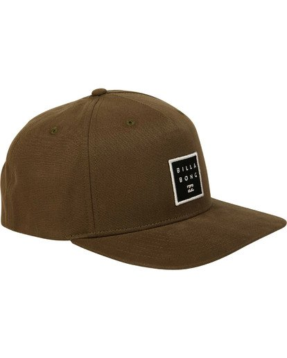 2 Stacked Snapback Green MAHWTBSS Billabong