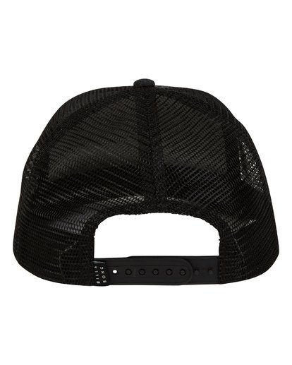 3 Stacked Trucker Hat Black MAHWTBST Billabong