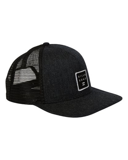 2 Stacked Trucker Hat Black MAHWTBST Billabong