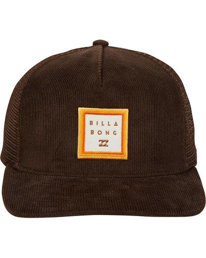 1 Stacked Trucker Hat  MAHWTBST Billabong