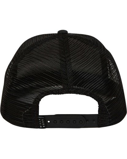 3 Stacked Trucker Hat Grey MAHWTBST Billabong