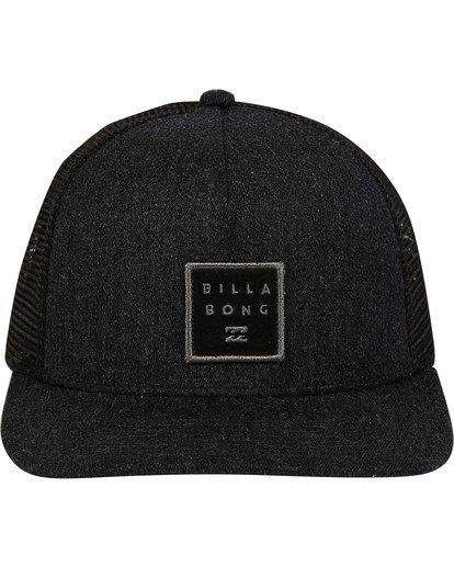 1 Stacked Trucker Hat Grey MAHWTBST Billabong