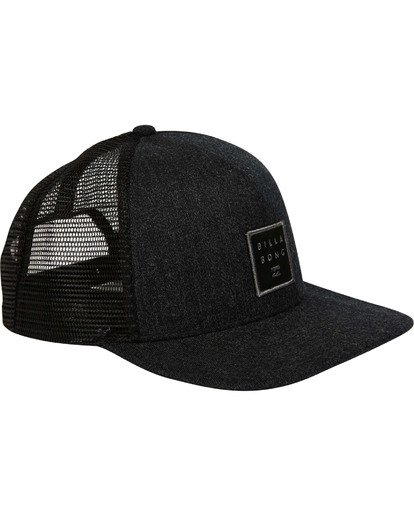 2 Stacked Trucker Hat Grey MAHWTBST Billabong